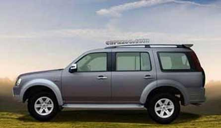 Coches con conductor ford endeavour